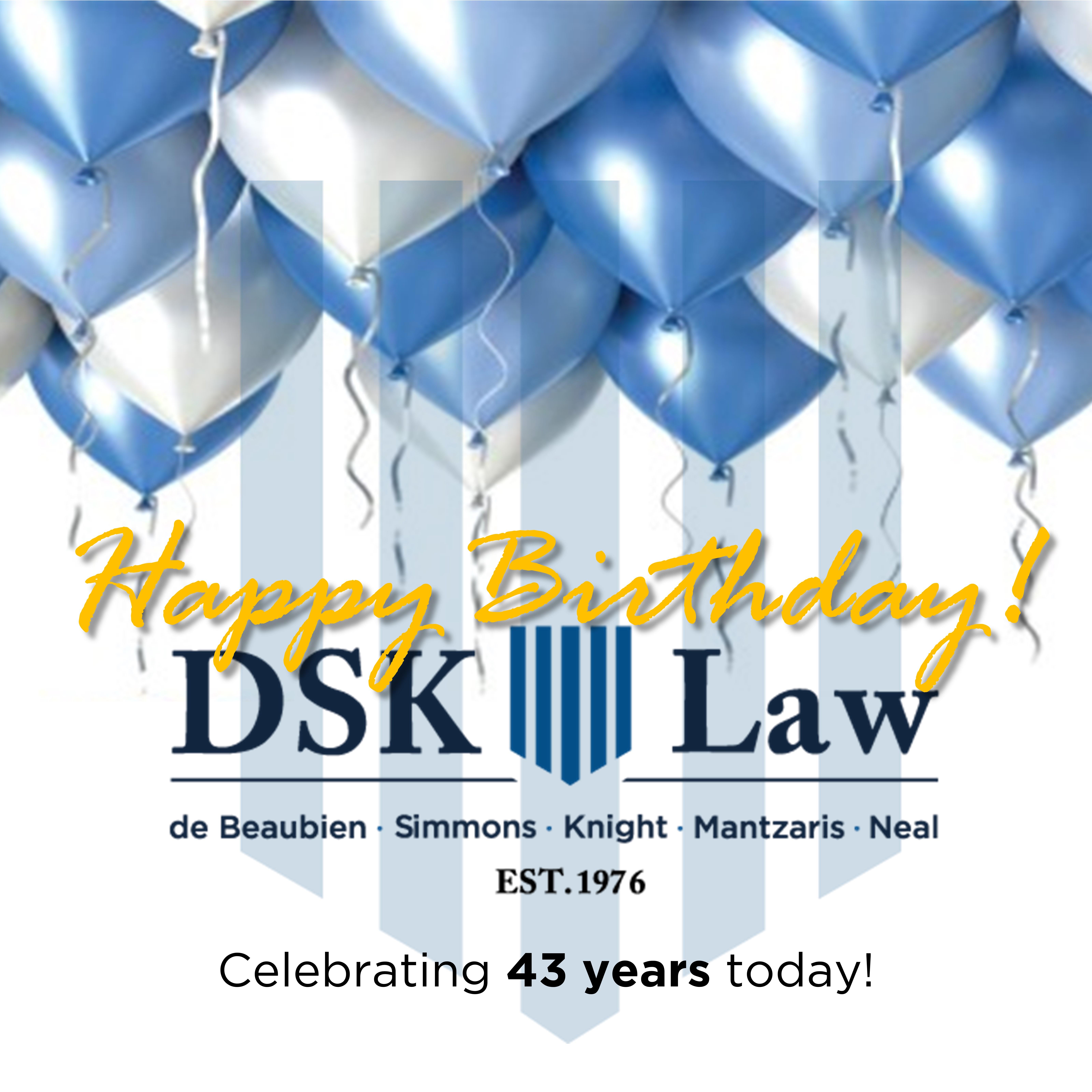 Happy Birthday DSK Law!